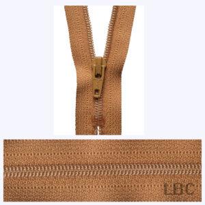 18cm Old Gold - Dress & Skirt Nylon Zip - Y418-508  - by YKK