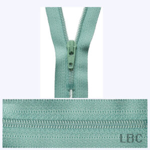 20cm Dark Mint - Dress & Skirt Nylon Zip - Y420-004  - by YKK