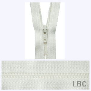 20cm Cream - Dress & Skirt Nylon Zip - Y420-502  - by YKK