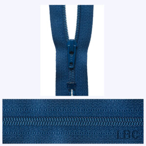 56cm Denim - Dress & Skirt Nylon Zip - Y456-040  - by YKK