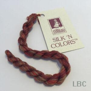 SR4002 - Autumn Foliage - 4mm Silken Ribbons - by The Thread Gatherer