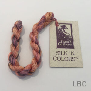 SR4008 - Cockleshell - 4mm Silken Ribbons - by The Thread Gatherer