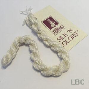 SR7000 - Snow Drift - 7mm Silken Ribbons - by The Thread Gatherer