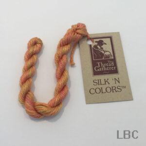 SR7011 - Butternut Orange - 7mm Silken Ribbons - by The Thread Gatherer