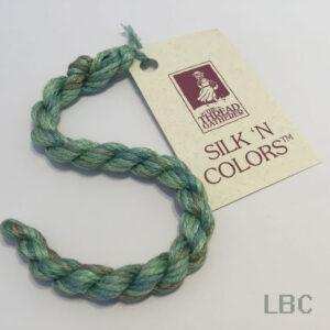 SR7016 - Seafoam Green - 7mm Silken Ribbons - by The Thread Gatherer