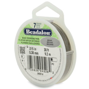 """CB0715-30 - 7 Strand Clear Flexible Stainless Steel Wire - Size 0.015"""" Diameter"""
