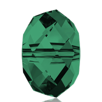 Style 5040 Briolette 4mm Emerald