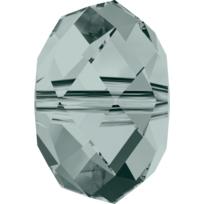 Style 5040 Briolette 6mm Black Diamond