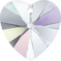 Style 6228 Swarovski Heart Pendant 10.3 x 10mm Crystal AB