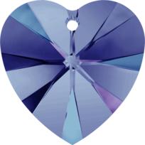Style 6228 Swarovski Heart Pendant 10.3 x 10mm Crystal Heliotrope