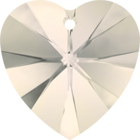Style 6228 Swarovski Heart Pendant 10.3 x 10mm Crystal MoonLight