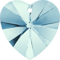 Style 6228 Swarovski Heart Pendant 10.3 x 10mm Aquamarine