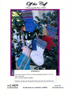 """C003 - """"Off the Cuff"""" Xmas Socks Charted Design"""