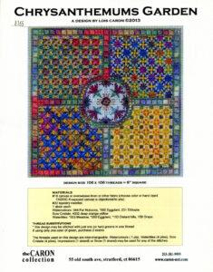 "C008 - ""Chrysanthemums Garden"" Charted Design"