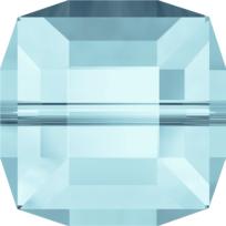 Style 5601 Cube Bead 4mm Aquamarine