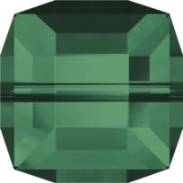 Style 5601 Cube Bead 4mm Emerald