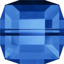 Style 5601 Cube Bead 4mm Sapphire