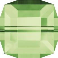Style 5601 Cube Bead 4mm Peridot