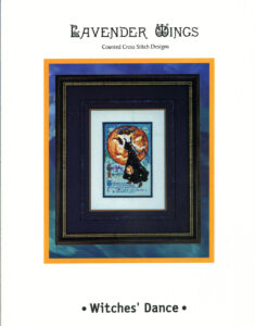 """LW004 - """"Witches' Dance"""" Counted Cross Stitch Design"""