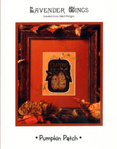 "LW006 - ""Pumpkin Patch"" Counted Cross Stitch Design"