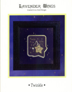 """LW007 - """"Twinkle"""" Counted Cross Stitch Design"""