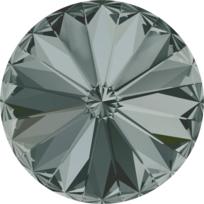 Style 1122 Rivoli 12mm Black Diamond
