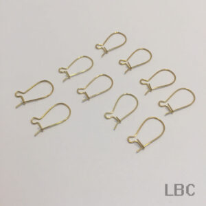 E-11g - Hook Wire and Guard Earhook - Gold - 100prs.