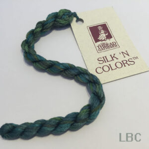 SP10025 - Forest of Greens - Silken Pearl SP10 30/3