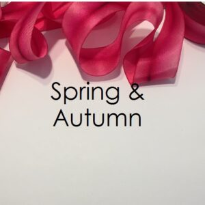Seasonal Colours from Spring to Autumn
