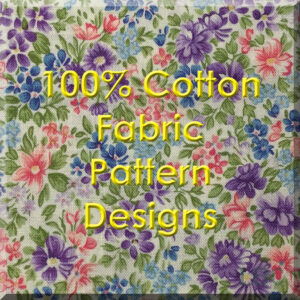Patterned 100% Cotton Fabric