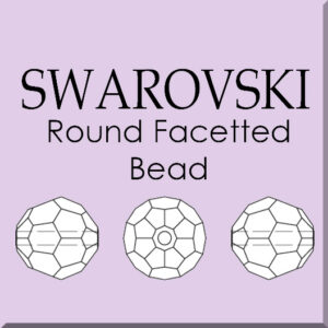 Multi Choice Round Facetted Crystals (Full Range)